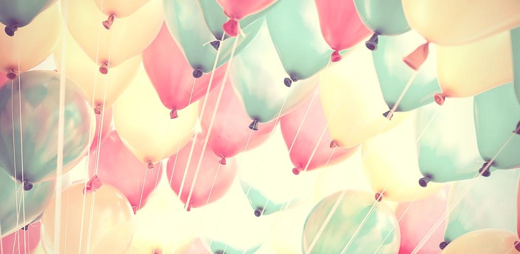 Surprising Header Balloons